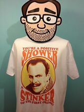 Terry-Thomas - British Comedian T-Shirt (I'm Alright Jack Quote) - White Shirt