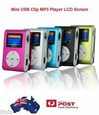 Fashion Mini USB Clip MP3 Player LCD Screen Support 16GB Micro SD TF Card