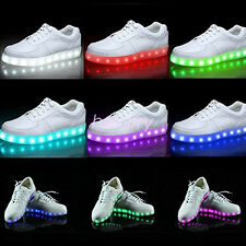 Popular LED Shoes Unisex Fashion Shoes Chargeable Shoes 7 Light Colors In 1