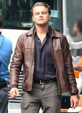 Inception Cobb Vintage Genuine Cow Leather Brown Mens Leather Jacket