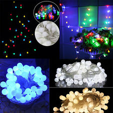 10M 100 LED Twinkling Fairy String Ball Lights Xmas Garlands Party/Wedding Pub