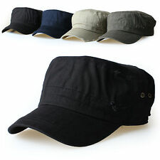 New Mens Cadet Military Hats/Caps Trucker Hat Visor Unisex