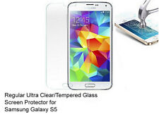 For Samsung Galaxy S5 Ultra Clear/Tempered Glass screen protector Film