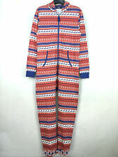 TOPMAN MENS CHRISTMAS NORDIC ONESIE ALL IN ONE SUIT SIZE S_M_L