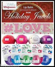 $6 Special 2016 Revo Lip Balm Limited Edition Walgreens & CVS - Pick Your Flavor