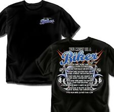 You might be a Biker if - T-Shirt - Adult Sizes