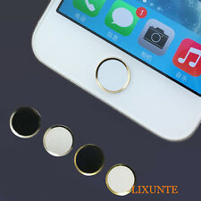 1X Round Metal Home Button Sticker For Apple iPhone5/4S/4 iPod Touch iPad New xt