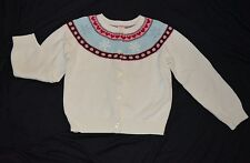 Gymboree WINTER SNOWFLAKE Holiday Cardigan Sweater Top NWT 5 6 12