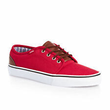 VANS 106 VULCANIZED SHOES (CANVAS & LEATHER) CHINESE RED STRIPES