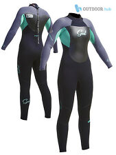 Gul Ladies Response 5/3mm Wetsuit Blindstitched Womens Full Steamer 5mm Winter