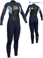Gul Ladies Response 3/2mm Blindstitch Steamer Womens Wetsuit Neoprene Surfing