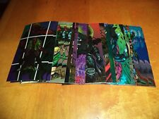 Wildcats Wildstorm 1994 Oversized Chromium Trading Cards 58 61 75 78 81 84