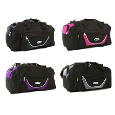 New Large Holdall Shoulder Bag Travel Luggage Duffle Bag Gym Weekend Sports 24