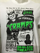 THE CRAMPS SISSIES STAY HOME SHIRT punk meteors horrors birthday party ALL SIZES