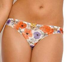 New Panache Cleo Poppy WomensThong Orange Floral RRP £14 Free UK P&P 6449