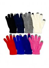 Women Knit Magic Touch Screen Glove Winter One Size Fashion Smartphone Tablet