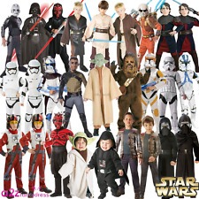 BOYS STAR WARS CHILDRENS KIDS LICENSED HALLOWEEN FILM FANCY DRESS COSTUME OUTFIT