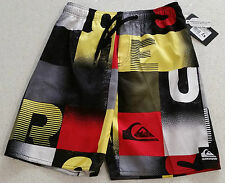 Quiksilver Word Check Boys Board Shorts, Swimmers, Swim Shorts – NWT, RRP $53.95