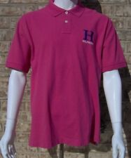 TOMMY HILFIGER Mens Polo Shirt Short Sleeve Large / XL Slim Fit Pink NEW