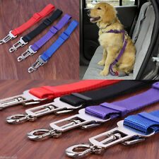New Dog Pet Car Safety Lead Seat Belt Clip Harness Restraint Collar Leads Travel