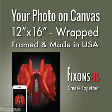 """Custom Gallery Wrapped Canvas, Your Photo on Canvas Print - 12""""x16"""""""
