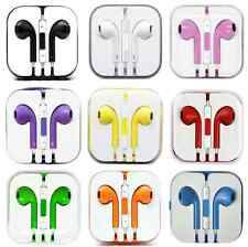 Earbuds Earphone Headset Volume control Mic For Apple iPhone 5 5C 5S 4 6 4S Plus