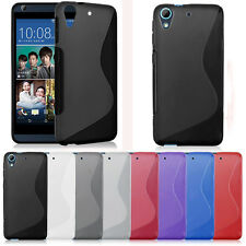 Soft GEL TPU Rubber Case Cover Skin Protector For HTC Desire 626 626S Stylish