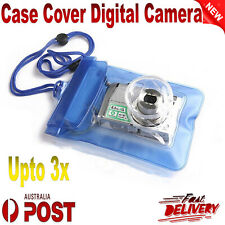 Waterproof Digital Camera Case Bag Underwater Diving Swimming Housing Pouch New