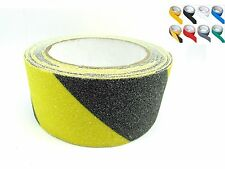 "ANTI Skid NON Slip Tape 50mm (2"") Wide SELF Adhesive Safety Warning TAPE"