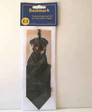 Dog Bookmark * ROTTWEILER * by UK artist * 4 Images To Choose From *