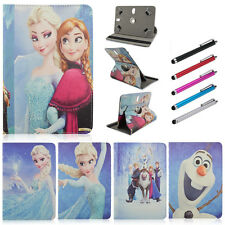 """Elsa&Anna 360 Degree Rotate Stand Flip PU Leather Cover Cases For 7""""~7.9"""" Tablet"""