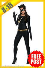 Ladies Costume Fancy Dress Up RD Licensed Catwoman Grand Heritage Classic 1996