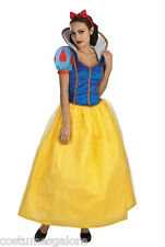 Ladies Costume Fancy Dress Up Snow White Princess (2014) Sz 6,8,10,12,14