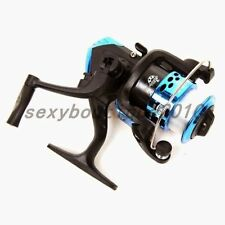 Portable Outdoors Fishing Tackle Lures Fish Spincast Reel Pure Metal Wheel New