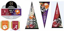 COLLEGE FOOTBALL NATIONAL CHAMPIONSHIP ALABAMA CLEMSON CELEBRATE 2016 & 2017