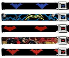 Seat Belt Buckle DC Comics Nightwing Robin Red Hood Batman