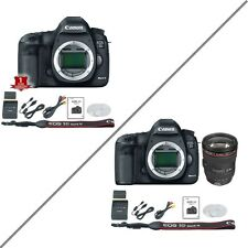 Canon 5D Mark III (BODY ONLY) *OR* Canon 5d MK3 w/ 24-105mm F/4L KIT Lens - NEW