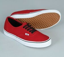 Vans Authentic Chili Pepper Red Boy Mens Womens Shoes Sneakers Size 4.5-13