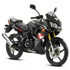 Lexmoto XTR-S 125cc -  Sports Motorcycle - Gloss Black - Learner Legal