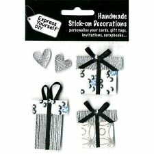 Express Yourself DIY Gifts Assorted Handmade Stick On Decorations Card Toppers