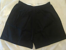 "Boys Mens Quality Black Cotton PE Gym Games Shorts 'Olympic' by Banner 38"" waist"