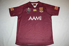 2014 QLD SOO STATE OF ORIGIN MAROONS MENS ADULT JERSEY, size S M only