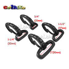 Heavy Duty Plastic Snap Hooks for Weave Paracord Lanyard Backpack Straps