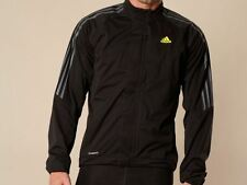 Adidas mens Response Black Tour Rain Running Jacket Large B5 N33 Z19379