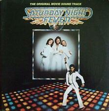 BEE GEES SATURDAY NIGHT FEVER DOUBLE LP 1977 WITH INSERT NEAR MINT SUPERB COPY *