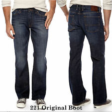 "Lucky Brand,Men's Jeans.""221 ORIGINAL BOOT"" Slim Fit,Boot Cut,Low Rise"