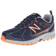 New Balance Mens Wide Extra Wide Trail Shoes MT610V4 Hiking Shoes Navy Grey