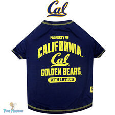 NCAA Pet Fan Gear CALIFORNIA STATE GOLDEN BEARS Tee T Shirt Tank for Dogs COTTON