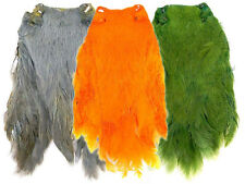 Hen neck capes - Dyed / various colours / fly tying feathers