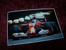 Photo / Photograph Fernando Alonso FERRARI F14 T Grand Prix de Monaco 2014 //
